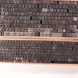 letterpress type font